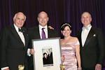 Ken Langone, Gary Cohn, Lisa Pevaroff-Cohn, Robert I  Grossman, MD, dean and CEO NYU Langone - Jay Brady Photography
