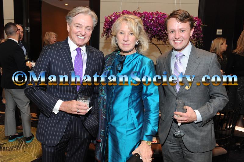 Geoffrey Bradfield, Carolyn Englefield, Roric Tobin
