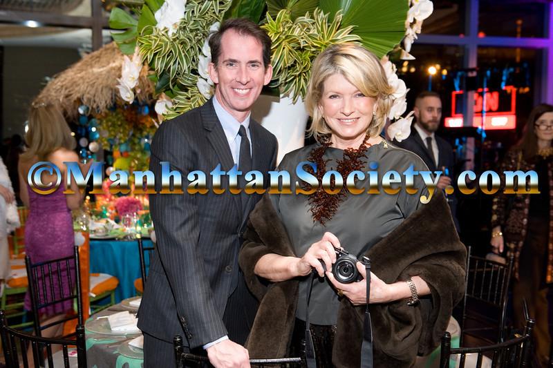 Kevin Sharkey, Martha Stewart