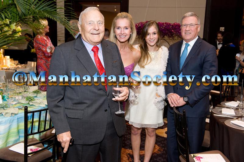 Roly Nolen,  Susan Matelich, Grace Matelich, Gregory Long