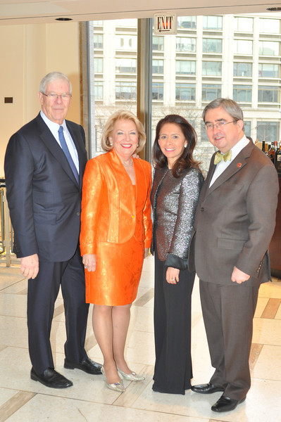 Chuck and Carol D  (Board Member) Schaefer, Jackie and Peter Mercer_credit Linsley Lindekins