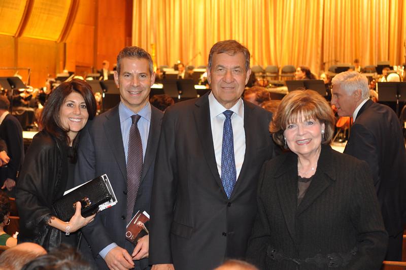 Rona and David Picket, Joel I  (Board Member) and Joan Picket_credit Linsley Lindekins