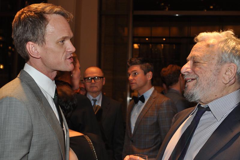 Neil Patrick Harris (Honorary Gala Chairman), Stephen Sondheim (Honorary Gala Chairman)_credit Linsley Lindekins