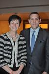 Karen Peetz (President of BNY Mellon), Executive Director Matthew VanBesien_credit Linsley Lindekins