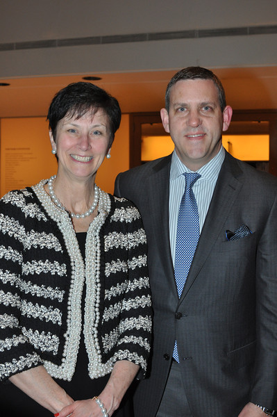 Karen Peetz (President of BNY Mellon), Executive Director Matthew VanBesien_credit Linsley Lindekins