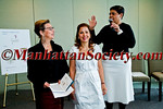 Annette Richardson of United Nations presenting the luncheon organisers Karine Ohana of Ohana & co and Corinne Evens of Goralska