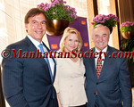Steve Buffone, Patricia Duff,  New York City Police Commissioner Bill Bratton