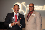 Honoree Marc Morial and Senior Vice President of The Fortune Society Stanley Richards
