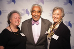 . President and CEO of The Fortune Society JoAnne Page; Congressman Charles B. Rangel; and Board Chair Betty Rauch.