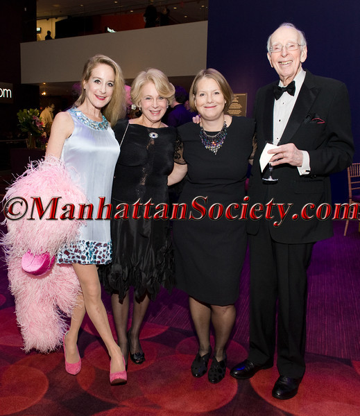 Deb Wasser, Susie Simon, Susan Vaughan, David Simon
