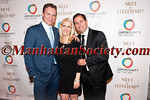 Jason Wright, Jessica Pliska, Brian Weinstein attend THE OPPORTUNITY NETWORK: 2014 NIGHT OF OPPORTUNITY on Monday, April 7, 2014 at Cipriani Wall Street, 55 Wall Street, New York City, NY  PHOTO CREDIT: Copyright © 2014 Manhattan Society.com by Christopher London