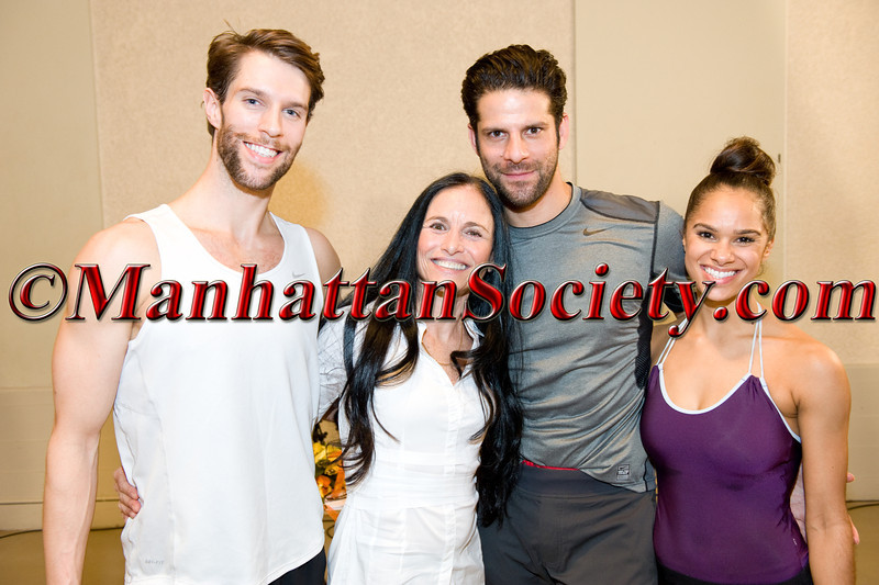 James Whiteside,  Barbara Brandt, Marcelo Gomes, Misty Copeland