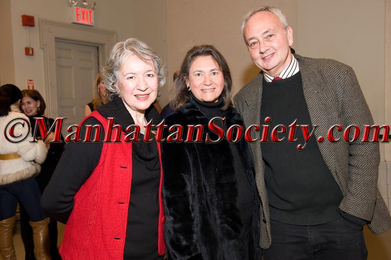 Celia Ipiotis, Sharon Hoge, Richard Osterweil