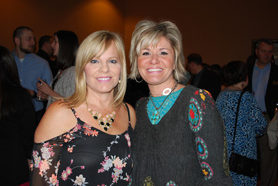 Sheila Harrell and Anne Resler