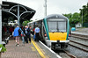 22013 waits to depart Mallow with the 1525 to Tralee. This service takes a connection out of the 1300 Heuston - Cork and 1420 Cork - Heuston services. Fri 04.07.14