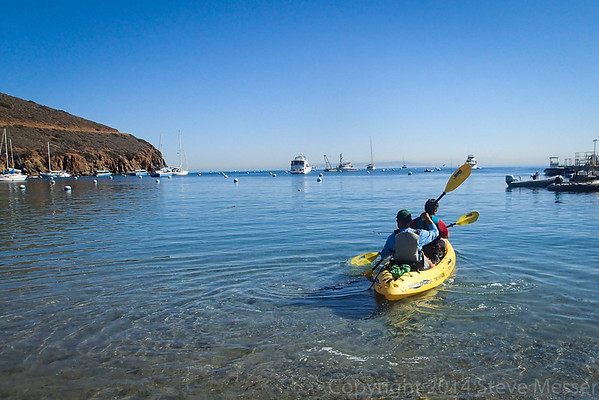 2014-05-14 - Sea Kayaking Catalina