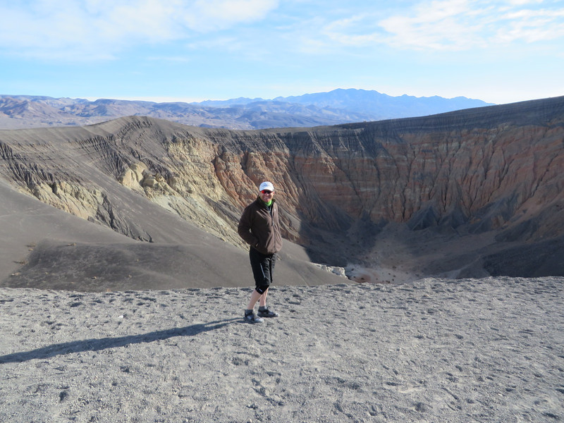 Ross at Ubhebe Crater