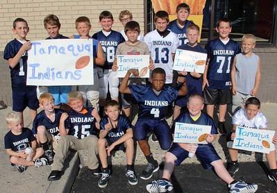Donation Fundraiser, Tamaqua Knee High Indians Football, Burger King, Tamaqua (8-28-2014)
