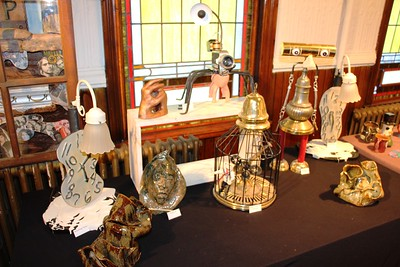 Student Exhibition, Black Diamond Pottery, Community Arts Center, Tamaqua (8-28-2014)