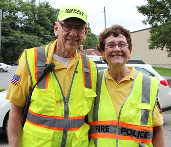 Tamaqua Fire Police Volunteers, Husband and Wife, Tamaqua (8-30-2014)