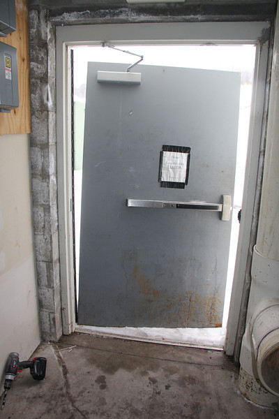 Door Open, Off Its Hinges, H.T. Commons, Hometown (2-19-2014)