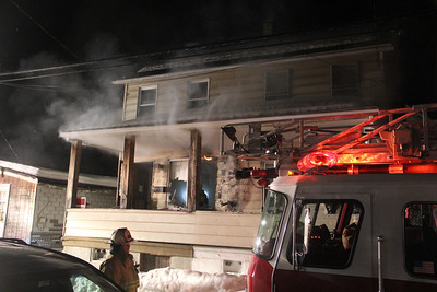 Duplex Fire, 22 East Kline Ave, Lansford (2-26-2014)