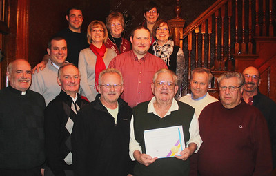 SH Lions Club Celebrates 15 Years, The Mansion House Restaurant, Summit Hill (2-27-2014)