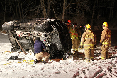 1-26-2014, Fatal Motor Vehicle Accident, in front of 25 Andreas Road, Andreas (1-26-2014)