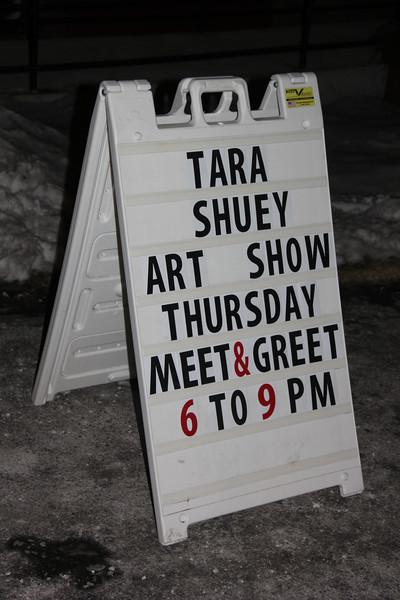 Artist Meet and Greet, Tara Shuey, Community Arts Center, Tamaqua (1-30-2014)