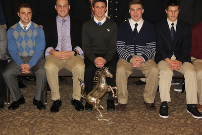 Banquet, Marian Colts Football Team, Capriotti's, Tresckow, McAdoo (1-25-2014)