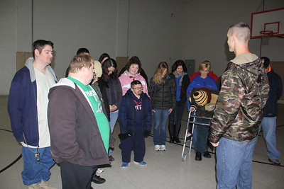 Boot Camp Exercises, Access Services, Salvation Army,Tamaqua (1-23-2014)