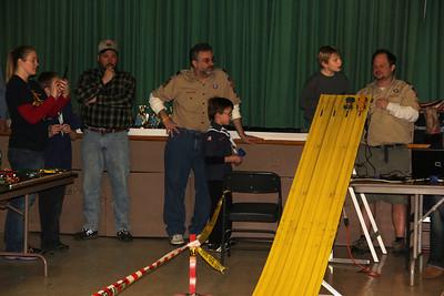 Derby, Cub, Boy, Girl Scouts, St. John's UCC, Tamaqua (1-25-2014)