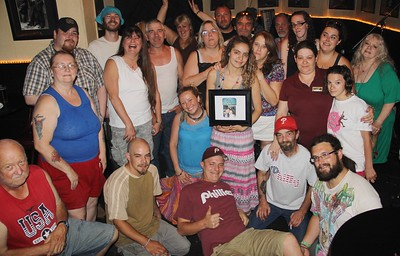 Benefit for the late Carmelo (Chino) Sotomayer, Freddy's Pub, Tamaqua (6-29-2014)