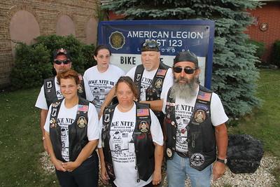 Bike Nite, Night, III, American Legion Riders, Lansford (6-28-2014)