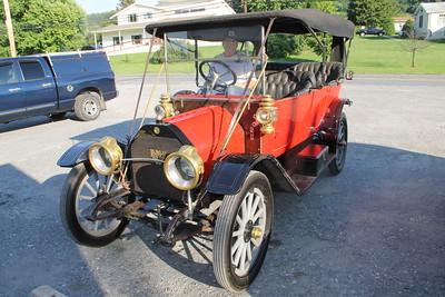 Classic Car, Blondie's Kitchen, West Penn (6-22-2014)