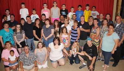 Julie Swenson DeAngelo 40th Birthday, Elks Lodge, Tamaqua (6-21-2014)