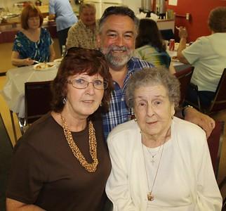 Mary Betty Oliver-Dolan Turns 95, Birthday Party, Tamaqua Knights of Columbus, Seek, Coaldale (6-21-2014)