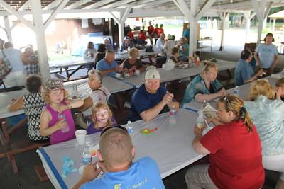 Old Fashioned Church Social, Zion's Stone Church, West Penn Community Park, West Penn (6-29-2014)
