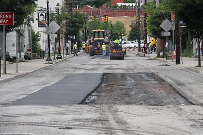 Road Repairs, Work, PennDOT, Mauch Chunk Street, SR309, Tamaqua (6-26-2014)