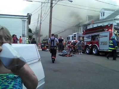 Shenandoah Fire, Photos from Derek Davidson (6-22-2014)