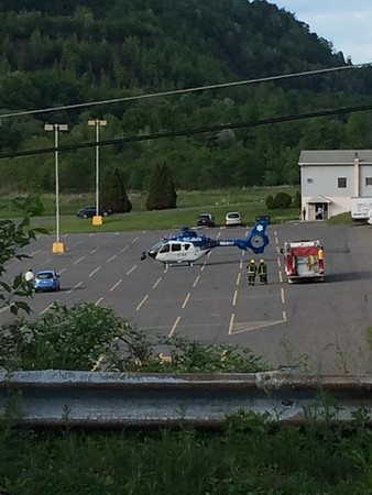 Helicopter Photo from Andrea Rodgers, Jamesway Plaza, Tamaqua (5-30-2014)