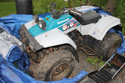 My Quad, 4-Wheeler for Sale, My House, Tamaqua (5-30-2014)