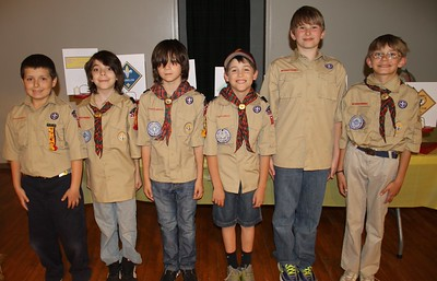 Tamaqua Boy Scout Ceremony, Blue and Gold Banquet, St. John's UCC, Tamaqua (5-31-2014)