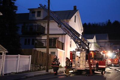 Chimney Fire, West Kline Avenue, Lansford (11-20-2014)