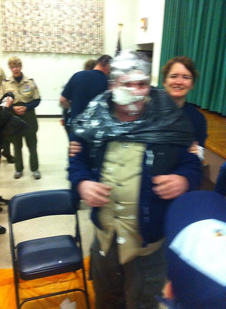 Pie In Face, Awards, Cub, Boy Scout Pack 777, St John's UCC, Tamaqua (11-18-2014)