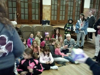 Tamaqua, PV Area Girl Scouts Collect Donations for Toys For Tots, Zion Lutheran Church, Tamaqua (11-19-2014)