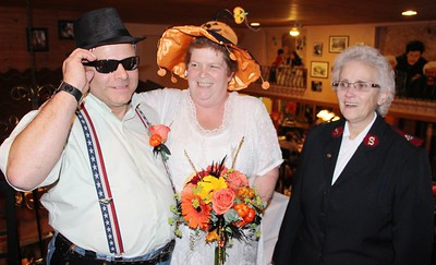 A Halloween Wedding, La Dolce Casa, Tamaqua (10-31-2014)