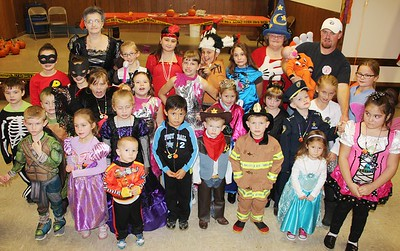 Safe Trick Or Treat, New England Fire Company, Walker Township (10-25-2014)