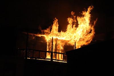 Fire 2 of 4, N. Ferguson, W. Coal Sts, Shenandoah (9-28-2014)