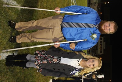 Homecoming King and Queen Announced, Homecoming Game, TASD Sports Stadium, Tamaqua (9-26-2014)